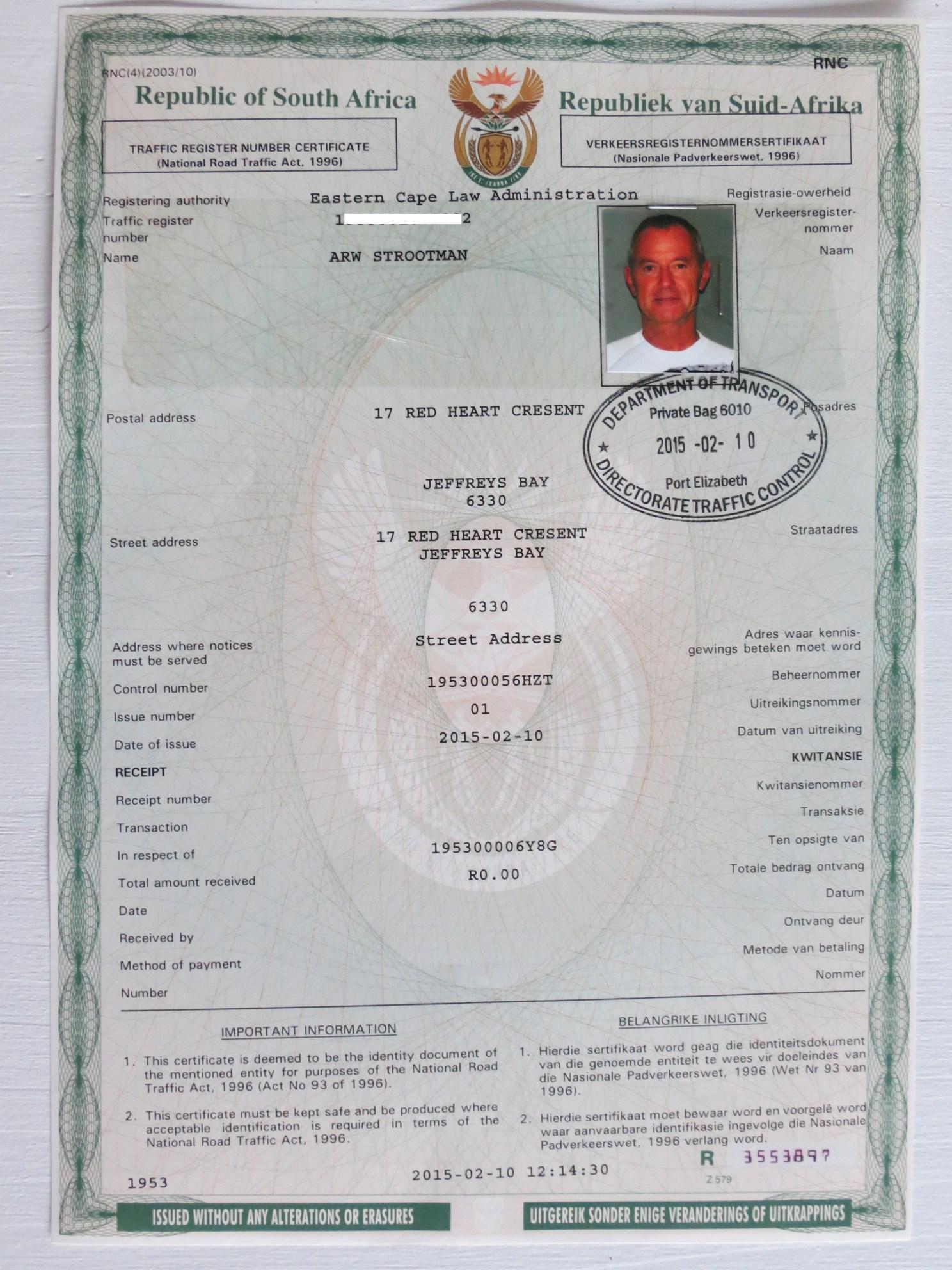 183 Beide Partijen Moeten Een Copy Van Hun Paspoorten Maken
